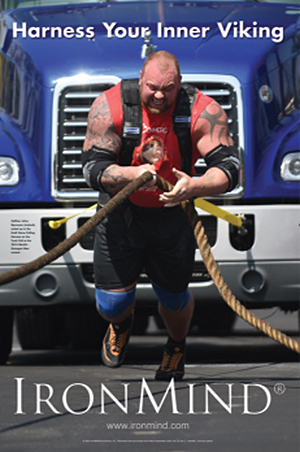 Harness your inner Viking: whether at World's Strongest Man or in your own backyard, effort and commitment are what count.