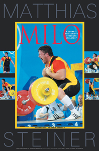 It was the last lift of the contest and in a fairy-tale ending, Matthias Steiner cleaned and jerked 258 kg for the gold medal at the 2008 Olympic Games.