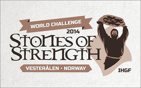 Norway will host the 2014 IHGF Stones of Strength World Challenge.  IronMind® | Artwork courtesy of the IHGF