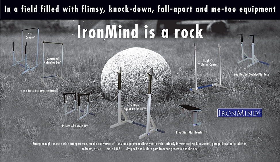 Large Equipment – IronMind is a rock