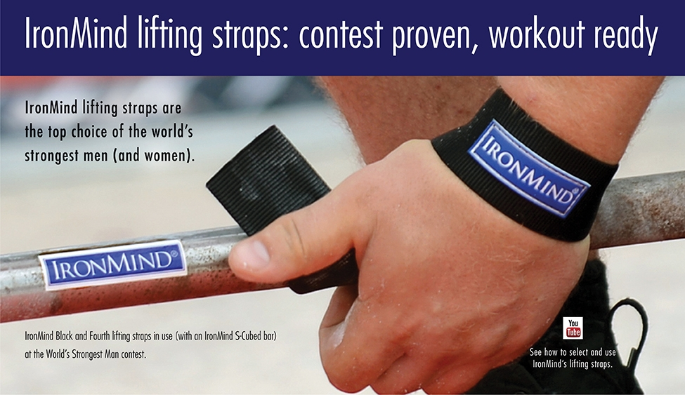 "IronMind Lifting Straps: ""I'll pay you . . ."""
