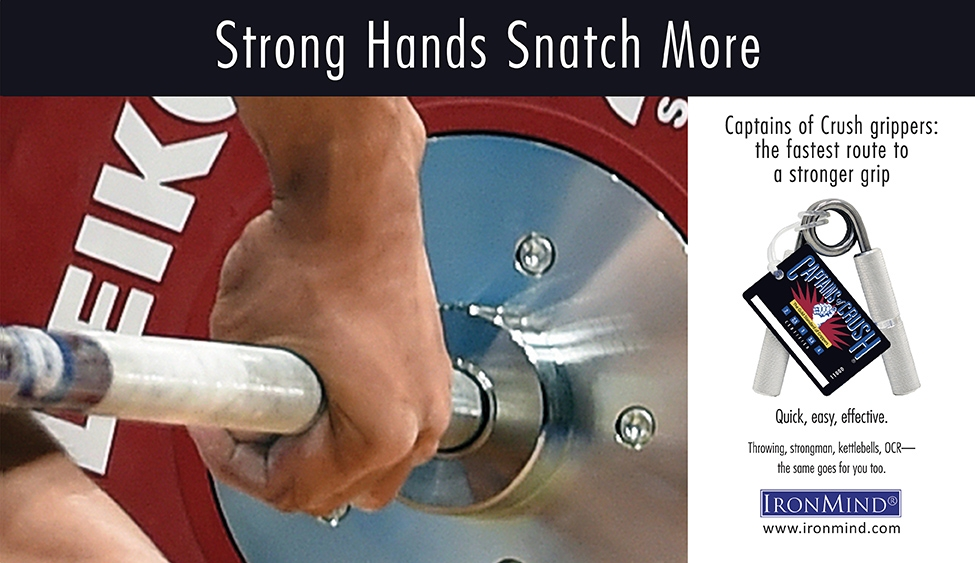 CoC Strong Hands Snatch More