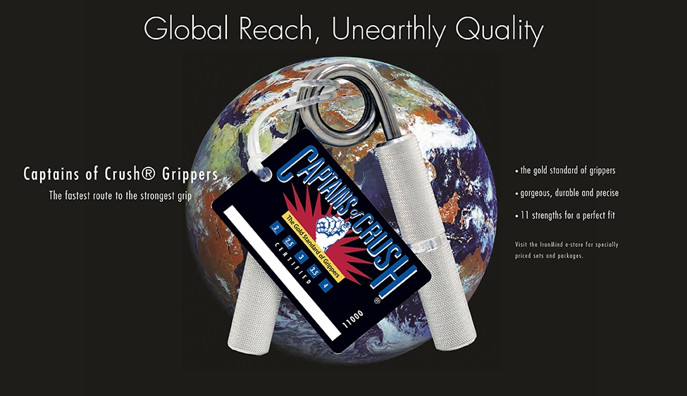 Captains of Crush grippers: Global Reach