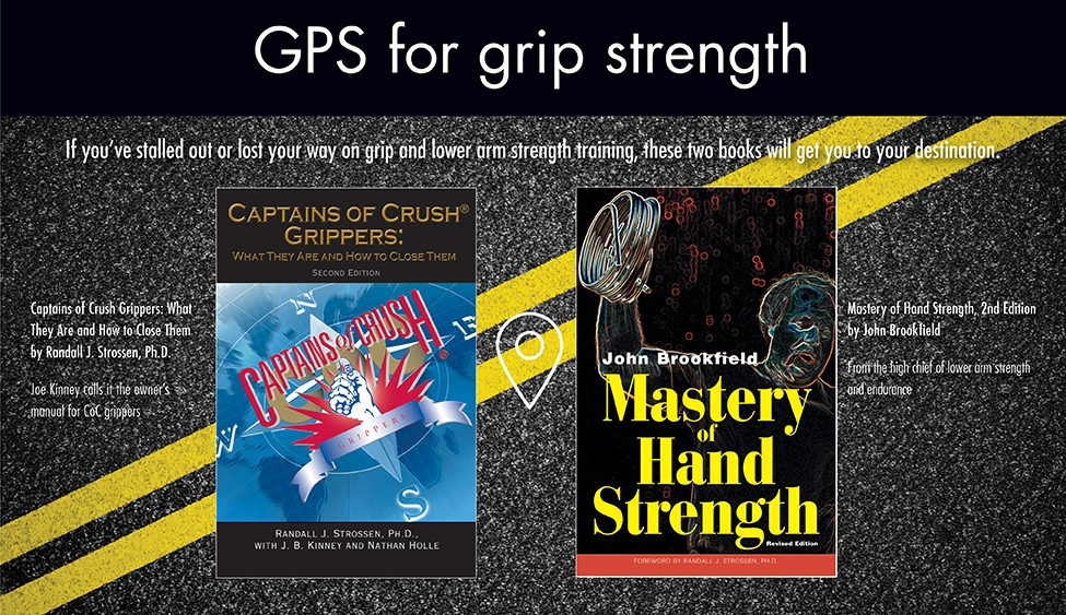 GPS – Captains of Crush book/Mastery of Hand Strength