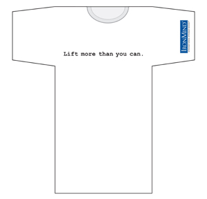 IronMind T-shirt - Lift more than you can.