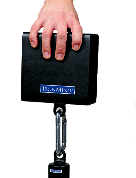 IronMind Blockbuster Pinch Grip Block with Loading Pin and Clip-cut2
