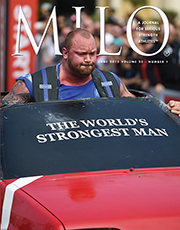 "Pedal to the metal: Whether you're talking muscle cars or men muscling cars, big engines produce fast times. Standing about 6' 9"" tall and weighing approximately 420 lb.—with abs—Hafthor Julius Bjornsson has the right motor for the job. Randall J. Strossen photo"