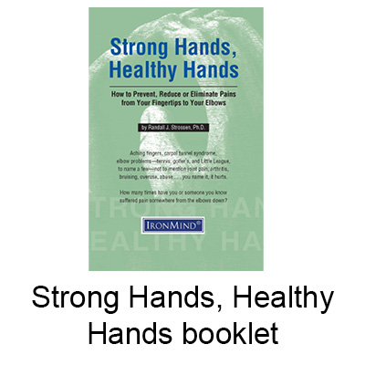 Find out how to train with the tools in your Strong and Healthy Hands Kit to prevent, reduce, or eliminate pains from your fingertips to your elbows.