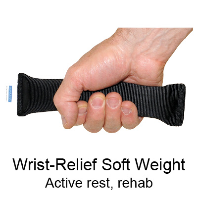 Now with a wrist strap--take it for a walk! Use this friendly tool to gently loosen and stretch your joints, relieving pressure in the wrist area, and encouraging increased range of motion and flexibility.  If you are suffering from carpal tunnel syndrome, arthritis, repetitive stress injuries or cramping in your lower arm, a couple of minutes with this friendly tool can work wonders. Keep one on your desk or by your favorite chair at home--it will make your fingers dance instead of drag.