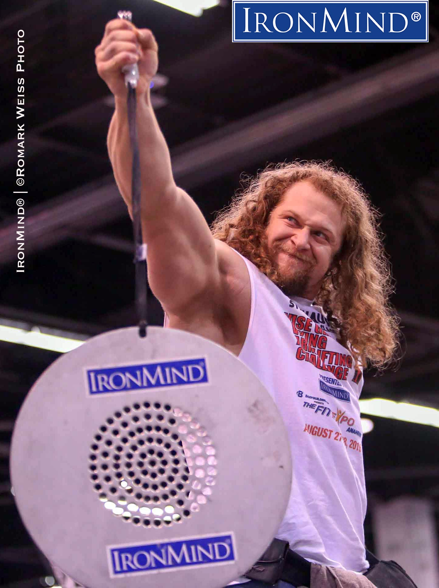 Shown on the Captains of Crush (CoC) Silver Bullet, Jon Call didn't waste any time making his mark in the armlifting world, as he finished fourth overall in a field of world-class competitors that Annaheim FitExpo. IronMind® | ©Romark Weiss photo
