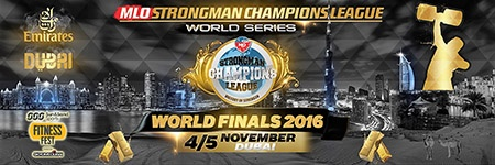 The 2016 MLO Strongman Championships League world champion will be crowned in Dubai, following two days of competition that will include a truck pull in the Arabian Desert. IronMind® | Courtesy of SCL