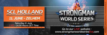 """Mastodons in Holland: Coming Saturday,"" SCL Director Marcel Mostert told IronMind today. Part of the 16-stage MHP Strongman Champions League (SCL) series, the competition is slated for this coming Saturday (June 11) at 13.30 in Zelhem, Holland.   ""It is a special title to win and to earn the respect of the Dutch strongman athletes and fans,"" Marcel Mostert said of SCL Holland, which will be ""broadcast 4 hours on national TV.""  IronMind® 
