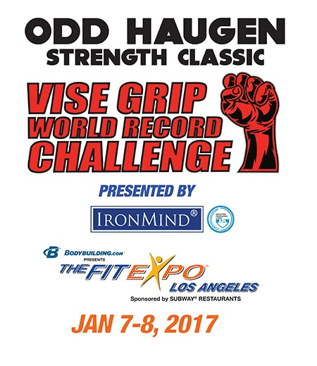 Russian-based APL (Armlifting Professional League) will be an official part of Odd Haugen's grip contest at the 2017 Los Angeles FitExpo. IronMind® | Image courtesy of FitExp