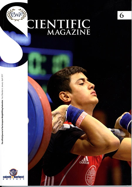 The latest issue of the EWF Scientific Magazine includes articles on the role of sport in society, the effect of menstruation on weightlifting performance, the role of the ankle in the Asian pull and studying complexity. IronMind® | ©EWF (European Weightlifting Federation)
