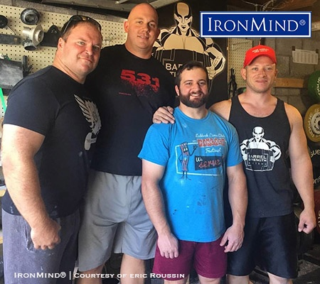 Here's the Tennessee crew that competed in the 4th King Kong Grip Challenge. Gil Goodman (far right) was the overall winner. IronMind® | Photo courtesy of Eric Roussin