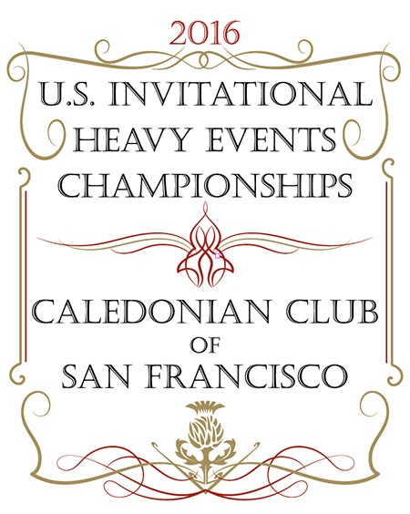 The Caledonian Club of San Francisco is presenting the 2016 US Invitational Heavy Events Championships September 3–4 in Pleasanton, California. IronMind® | Artwork courtesy of Steve Conway