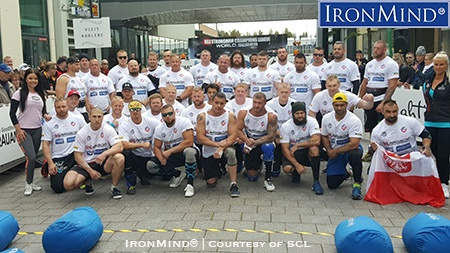 SCL director Ilkka Kinnunen pioneered bringing strongman to more competitors first introducing the 105-kg class and the the 90-kg class, too. Here's the lineup for the 2016 SCL Under 90 kg and Under 105 kg World Championships. IronMind® | Photo courtesy of SCL