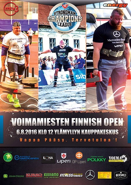 This Saturday, the 2016 SCL Finnish Open will take place in Liperia, Finland. IronMind® | Image courtesy of SCL
