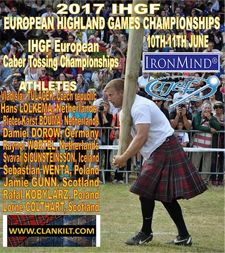 IronMind News by Randall J. Strossen: Bressuire, France continues to build its history of hosting premiere Highland Games events and this year will bring the IHGF European Highland Games Championships to the Bressuire Castle. IronMind® | Artwork courtesy of the IHGF