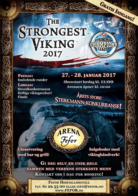 SCL Norway begins this Friday night, featuring a Viking theme and top strongman competitors from around the world. IronMind® | Image courtesy of SCL