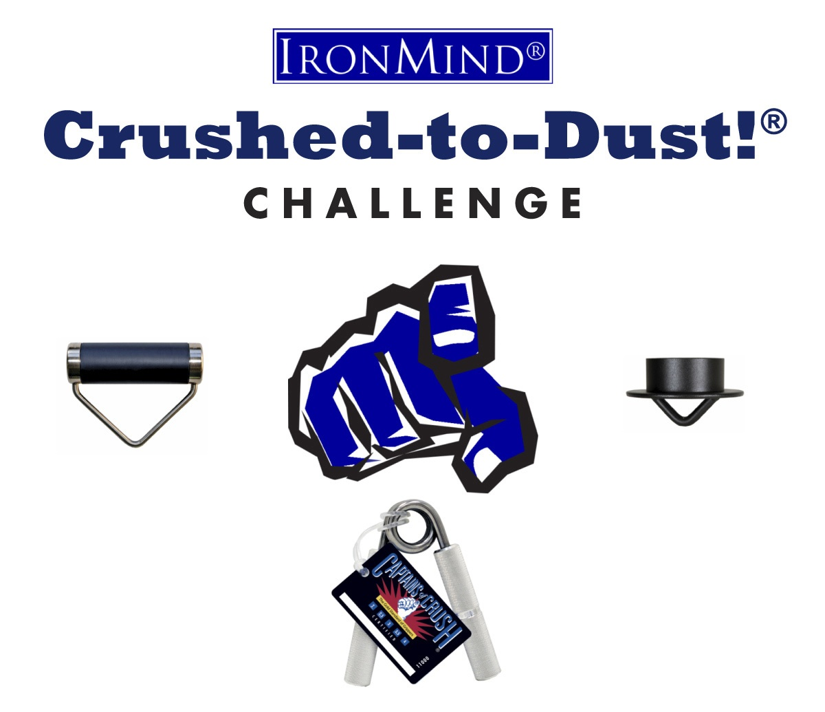Crushed-to-Dust! Challenge logo