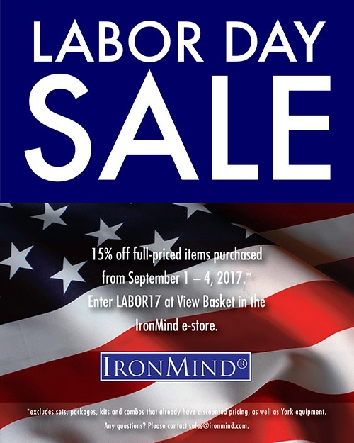 Made in America and used worldwide, IronMind has been synonymous with the top of the strength world for over 25 years, as we combine artisanal designs and quality with industrial strength.