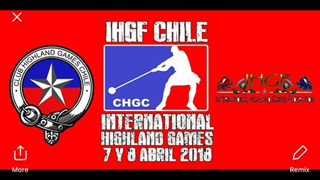 Continuing to expand worldwide, bringing Highland Games to more areas, the IHGF is coming to Chile next month. IronMind® | Image courtesy of IHGF