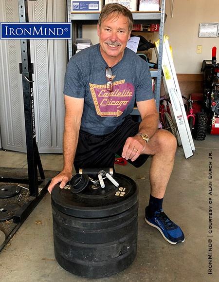 """I wish to thank my incredible wife and three children for their support of my interest in strength training,"" said Mark Viehweg, who was just certified on the IronMind Crushed-To-Dust! Challenge—a fun, easy, and effective way to demonstrate one has superior grip strength. IronMind® 