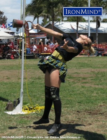 New for 2019, the IHGF has a women's IHGF All-American Highland Games series, so watch for Felicia Baltren and other top women throwers. IronMind® | Photo courtesy of Dana MacDonald