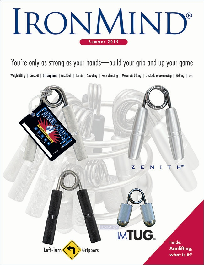 IronMind 2019 Summer catalog cover