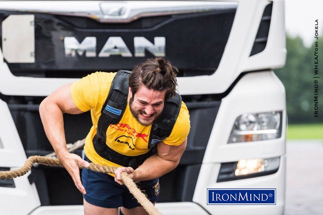 For athletes like James Gregory (UK) who would like to compete in drug-tested strongman, WHEA provides that opportunity. IronMind® | Image courtesy of WHEA/Tomi Jokela