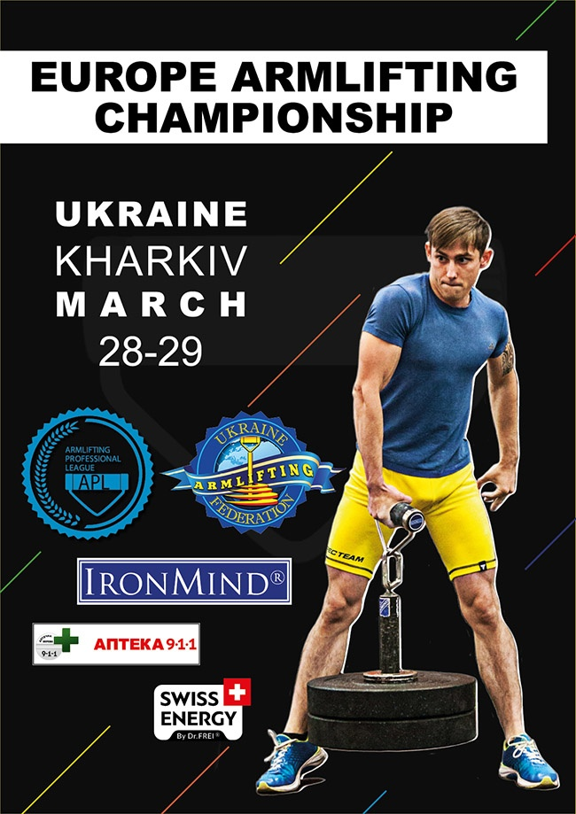 Kharkov, Ukraine will be the site of the 2020 APL European Armlifting Championships, so if grip strength is your thing, it's time to hit some new PRs on the Rolling Thunder, CoC Silver Bullet, Apollon's Axle . . . IronMind® | Courtesy of APL
