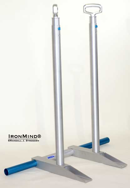 IronMind's new ALight system allows you to dip the way you want to, rather than forcing you into a one-size-does-not-fit-all rack.  IronMind® | Randall J. Strossen photo.