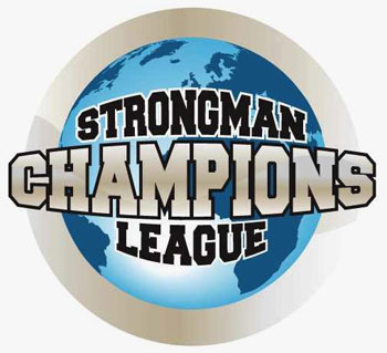 The Strongman Champions League has just signed another contest - putting the 2009 calendar within reach of its 12-contest goal. IronMind® | Logo courtesy of the Strongman Champions League.
