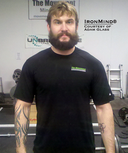 "Adam Glass told IronMind that certifying on the Captains of Crush No. 3 gripper was his ""#1 goal for 2010.""   Congratulations, Adam—you've succeeded!  IronMind® 