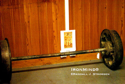 The authentic Apollon Wheels. IronMind® | Randall J. Strossen photo.