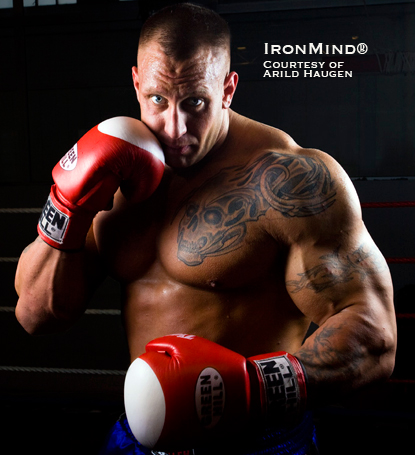Fast, fit and powerful - former World's Strongest Man competitor Arild Haugen has transferred his skills from the strongman circuit to the boxing ring.  IronMind® | Courtesy of Arild Haugen.