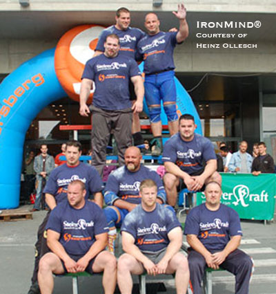 Martin Wildauer continues to impress, winning the Austrian Summer Giant 2009 strongman contest.  IronMind® | Photo courtesy of Heinz Ollesch.