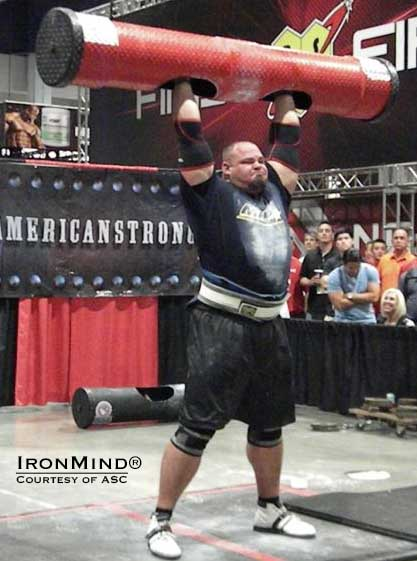 Brian Shaw added the 2013 America's Strongest Man® title to his considerable laurels in strongman.  IronMind® | Photo courtesy of ASC