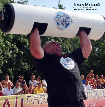 """After winning the SCL–Bulgaria earlier this year, Ervin Katona won in his own country his second Strongman Champions League contest of the 2010 season, the SCL–Serbia,"" Marcel Mostert told IronMind today.  IronMind® 