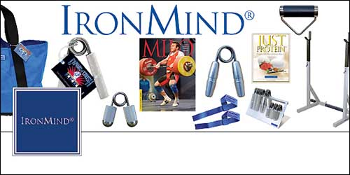 IronMind is now on Facebook—hope you Like us!