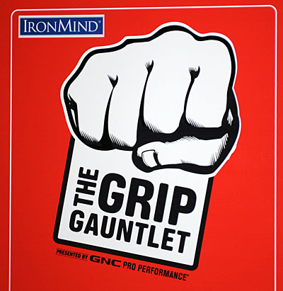 The GNC Grip Gauntlet - test your grip strength and have fun at the same time. IronMind® | Randall J. Strossen photo.