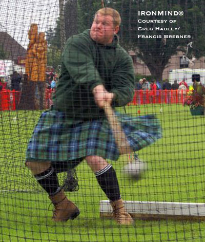 Greg Hadley won the Georgetown (Canada) Highland Games over the weekend. IronMind® | Photo courtesy of Greg Hadley/Francis Brebner.