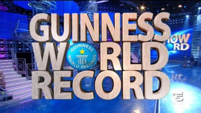 The Guinness World Record TV show is presenting a series of challenges featuring top competitors from the Strongman Champions League.  IronMind® | Courtesy of SCL/Guinness World Records.