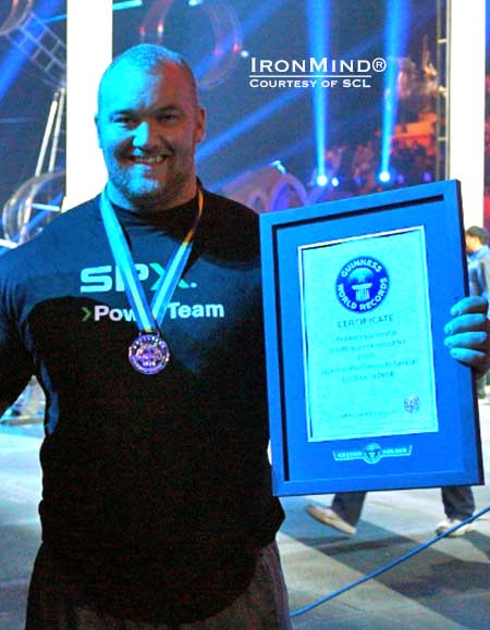 Hafthor Opens 2014 with Guinness World Record