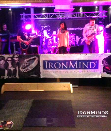 Jyrki Rantantan decided to take grip contests clubbing in Finland.  IronMind® | Photo courtesy of Jyrki Rantanen