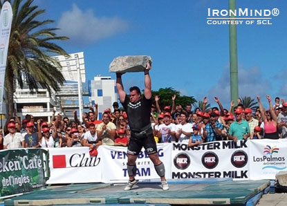 Jarno Hams is returning from an injury earlier this year and is reestablishing himself in the strongman ranks.  IronMind® | Courtesy of SCL.