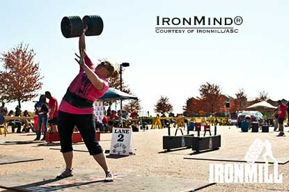 """Kim Zimmerman is one one of America's strongest women,"" said Dione Wessels.  IronMind® 
