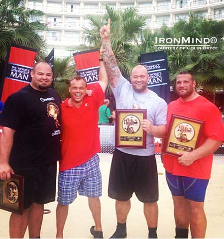 Hafthor Julius Bjornsson Wins King of Stones at World's ...