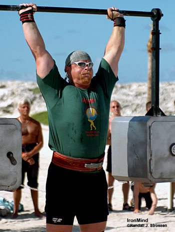 If he's healthy, it's safe to bet on a top finish by Magnus Samulesson at the 2007 World's Strongest Man contest. IronMind® | Randall J. Strossen, Ph.D. photo.